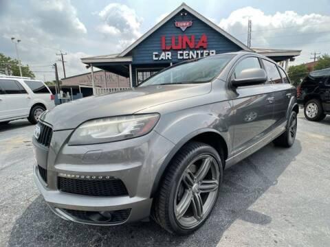 2014 Audi Q7 for sale at LUNA CAR CENTER in San Antonio TX