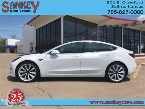2019 Tesla Model 3 for sale at Sankey Auto Center, Inc in Salina KS