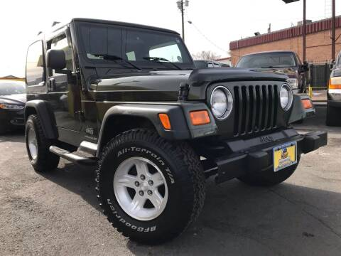 2006 Jeep Wrangler for sale at New Wave Auto Brokers & Sales in Denver CO