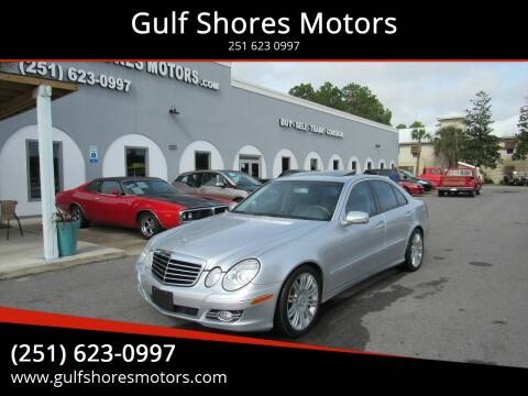 2008 Mercedes-Benz E-Class for sale at Gulf Shores Motors in Gulf Shores AL