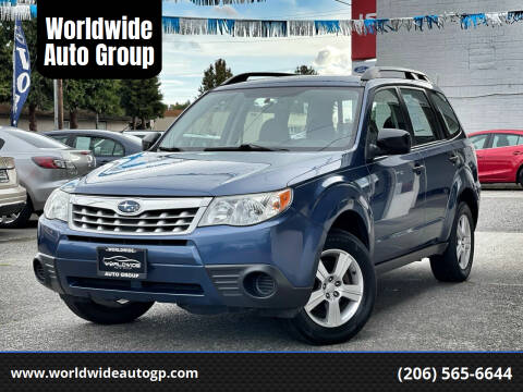 2011 Subaru Forester for sale at Worldwide Auto Group in Auburn WA