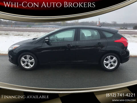 2014 Ford Focus for sale at Whi-Con Auto Brokers in Shakopee MN