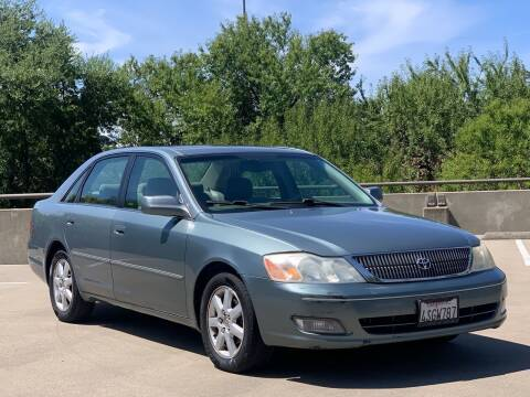 2001 Toyota Avalon for sale at AutoAffari LLC in Sacramento CA