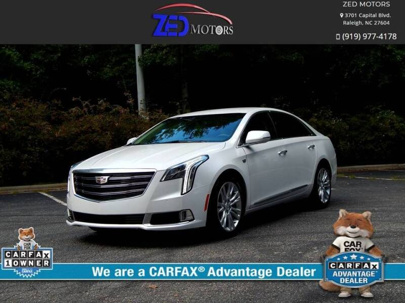 2019 Cadillac XTS for sale at Zed Motors in Raleigh NC