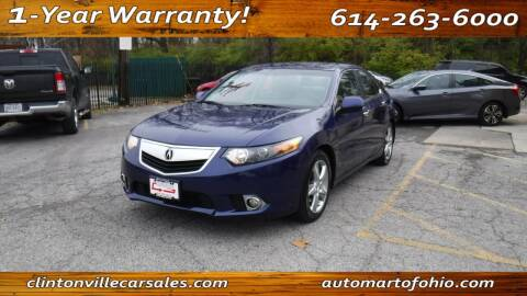 2012 Acura TSX for sale at Clintonville Car Sales - AutoMart of Ohio in Columbus OH