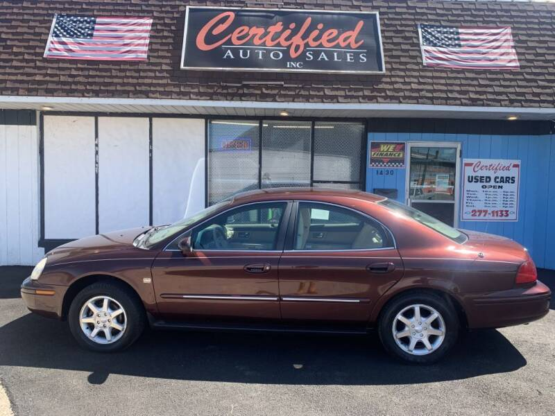 2000 Mercury Sable for sale at Certified Auto Sales, Inc in Lorain OH