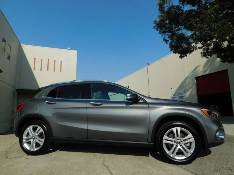2018 Mercedes-Benz GLA for sale at Conti Auto Sales Inc in Burlingame CA