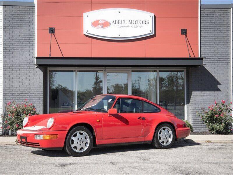 1990 Porsche 911 for sale at Abreu Motors in Carmel IN