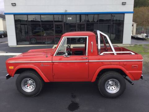1974 Ford Bronco for sale at Classic Connections in Greenville NC