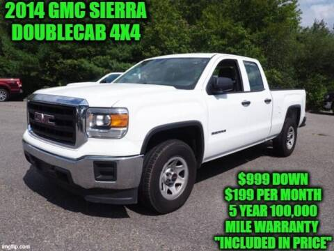 2014 GMC Sierra 1500 for sale at D&D Auto Sales, LLC in Rowley MA