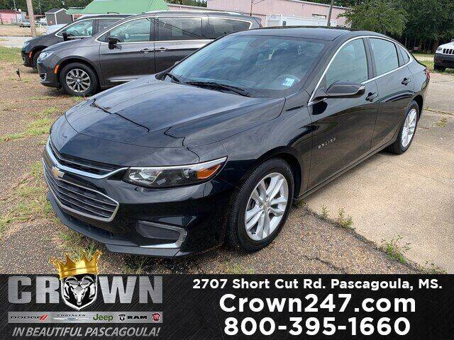 2017 Chevrolet Malibu for sale at CROWN  DODGE CHRYSLER JEEP RAM FIAT in Pascagoula MS