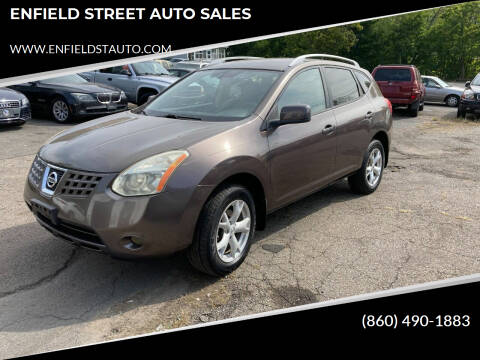 2008 Nissan Rogue for sale at ENFIELD STREET AUTO SALES in Enfield CT