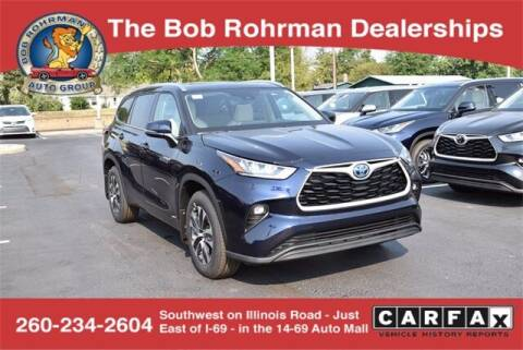 2020 Toyota Highlander Hybrid for sale at BOB ROHRMAN FORT WAYNE TOYOTA in Fort Wayne IN
