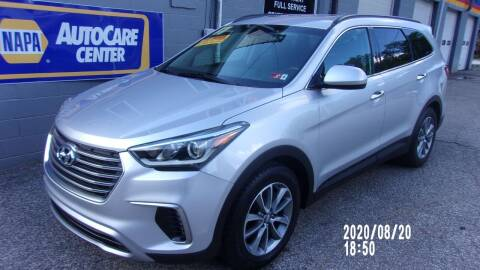 2017 Hyundai Santa Fe for sale at Allen's Pre-Owned Autos in Pennsboro WV