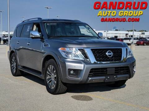 2019 Nissan Armada for sale at Gandrud Dodge in Green Bay WI