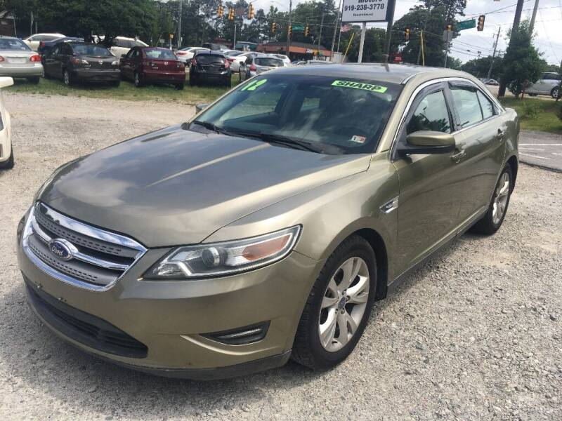 2012 Ford Taurus for sale at Deme Motors in Raleigh NC