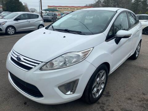 2011 Ford Fiesta for sale at Atlantic Auto Sales in Garner NC