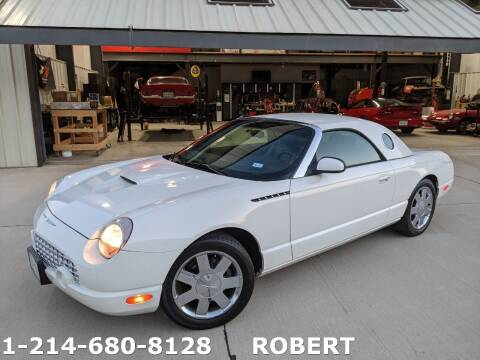 2002 Ford Thunderbird for sale at Mr. Old Car in Dallas TX