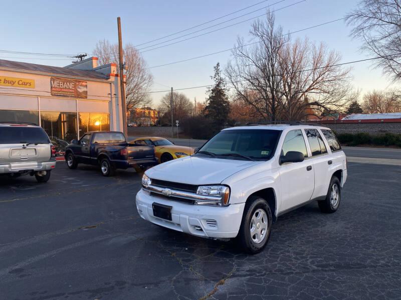 2002 Chevrolet TrailBlazer for sale at Mebane Auto Trading in Mebane NC