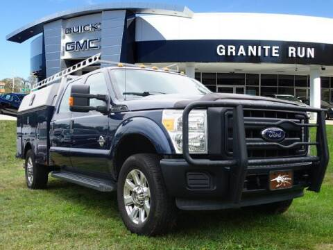 2016 Ford F-350 Super Duty for sale at GRANITE RUN PRE OWNED CAR AND TRUCK OUTLET in Media PA