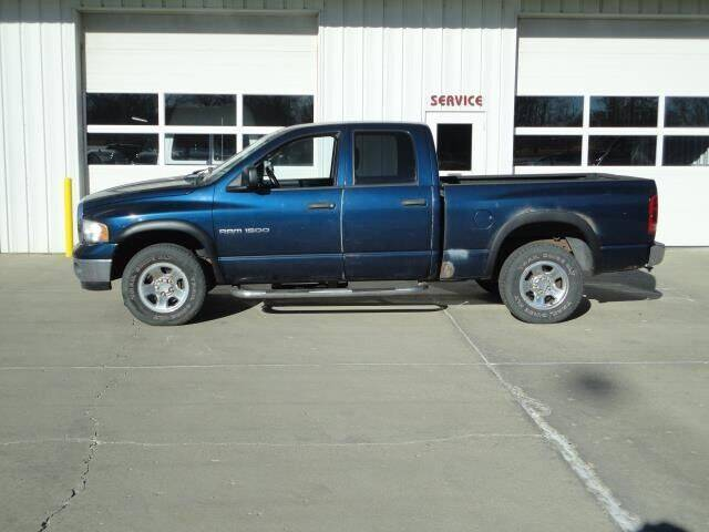 2004 Dodge Ram Pickup 1500 for sale at Quality Motors Inc in Vermillion SD