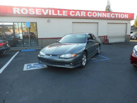 2005 Chevrolet Monte Carlo for sale at ROSEVILLE CAR CONNECTION in Roseville CA