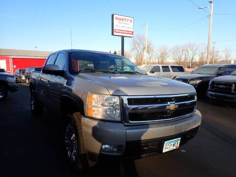 2008 Chevrolet Silverado 1500 for sale at Marty's Auto Sales in Savage MN