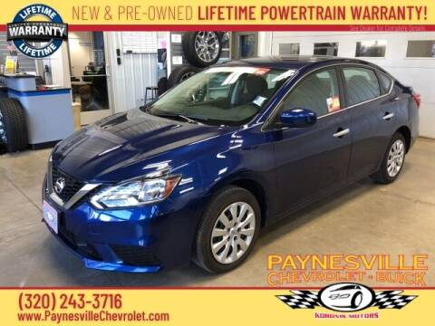 2019 Nissan Sentra for sale at Paynesville Chevrolet - Buick in Paynesville MN