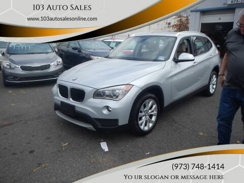 2014 BMW X1 for sale at 103 Auto Sales in Bloomfield NJ