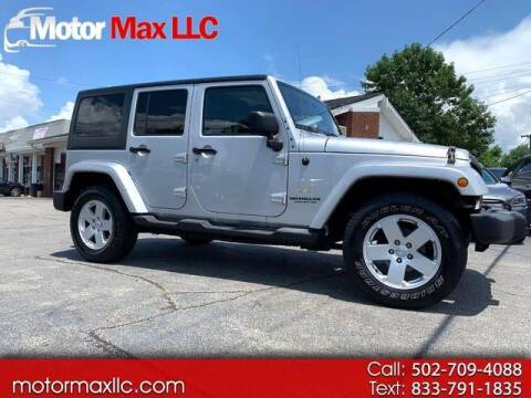 2012 Jeep Wrangler Unlimited for sale at Motor Max Llc in Louisville KY
