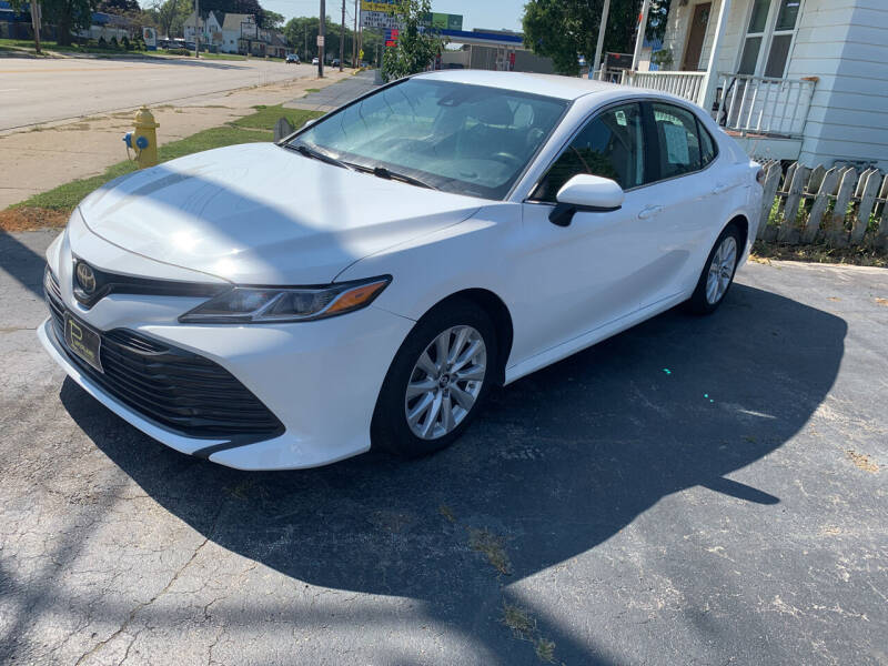 2019 Toyota Camry for sale at PAPERLAND MOTORS in Green Bay WI