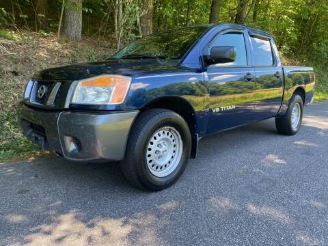 2008 Nissan Titan for sale at Lenoir Auto in Lenoir NC
