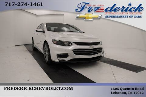 2016 Chevrolet Malibu for sale at Lancaster Pre-Owned in Lancaster PA