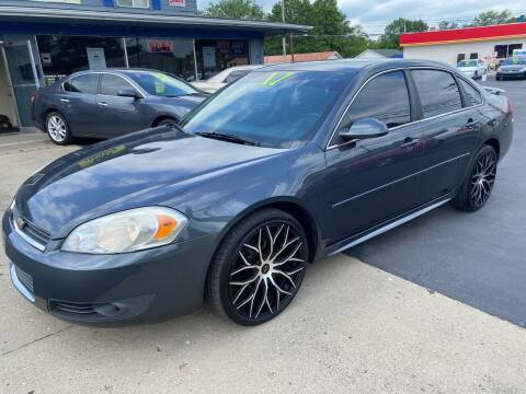 2011 Chevrolet Impala for sale at Wise Investments Auto Sales in Sellersburg IN