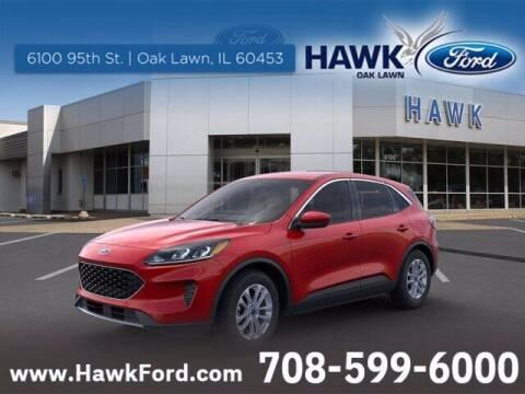 2021 Ford Escape for sale at Hawk Ford of Oak Lawn in Oak Lawn IL