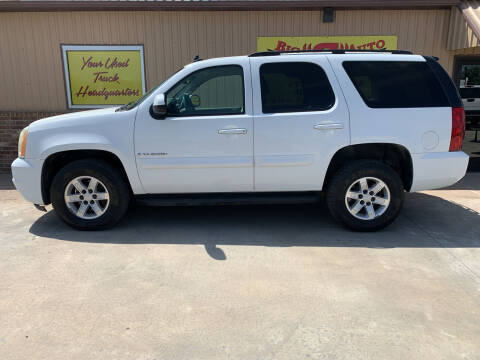 2007 GMC Yukon for sale at BIG 'S' AUTO & TRACTOR SALES in Blanchard OK