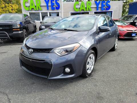 2014 Toyota Corolla for sale at Car Yes Auto Sales in Baltimore MD