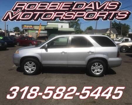 2006 Acura MDX for sale at Robbie Davis Motorsports in Monroe LA