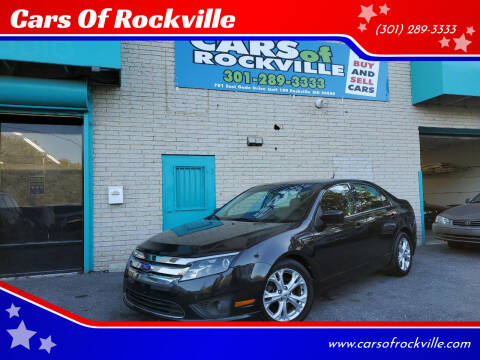 2012 Ford Fusion for sale at Cars Of Rockville in Rockville MD