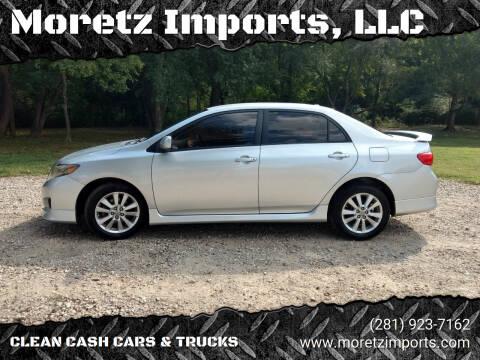 2010 Toyota Corolla for sale at Moretz Imports, LLC in Spring TX