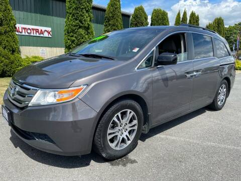 2012 Honda Odyssey for sale at AUTOTRACK INC in Mount Vernon WA