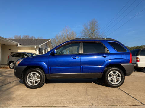 2008 Kia Sportage for sale at H3 Auto Group in Huntsville TX