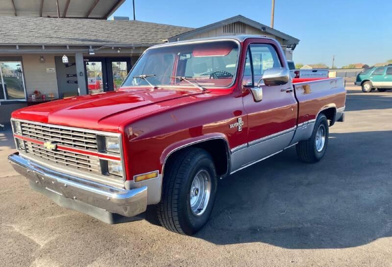 1983 Chevrolet C/K 10 Series for sale at Mesa AZ Auto Sales in Apache Junction AZ
