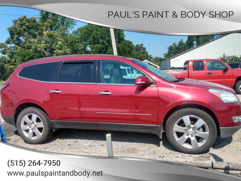 2014 Chevrolet Traverse for sale at PAUL'S PAINT & BODY SHOP in Des Moines IA