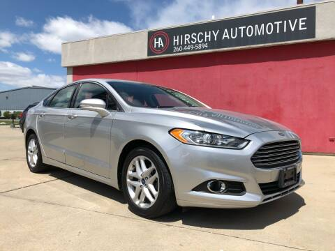 2014 Ford Fusion for sale at Hirschy Automotive in Fort Wayne IN