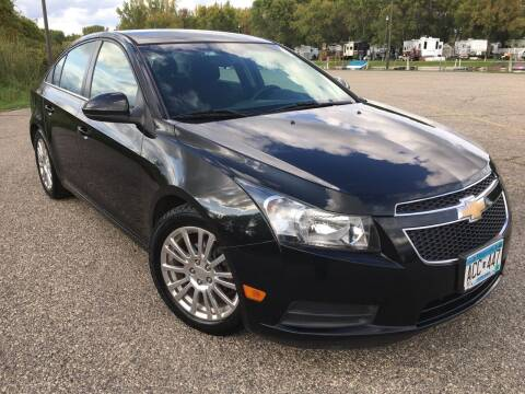 2012 Chevrolet Cruze for sale at MINNESOTA CAR SALES in Starbuck MN