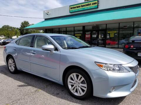 2014 Lexus ES 350 for sale at Action Auto Specialist in Norfolk VA