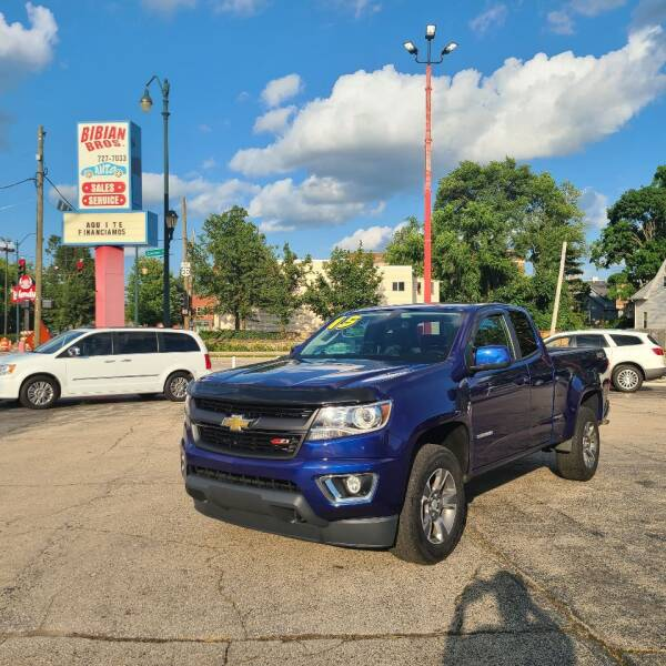 2015 Chevrolet Colorado for sale at Bibian Brothers Auto Sales & Service in Joliet IL