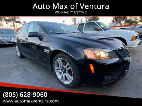 2008 Pontiac G8 for sale at Auto Max of Ventura in Ventura CA