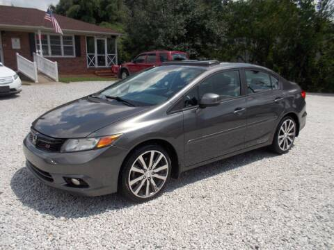 2012 Honda Civic for sale at Carolina Auto Connection & Motorsports in Spartanburg SC
